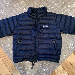 Patagonia baby down jacket 2T navy blue